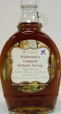 Wildwood's Original Hickory Syrup (12 fl.oz) - Falling Bark Farm