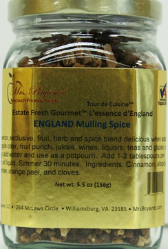 England Mulling Spice - Mrs. Bryant's