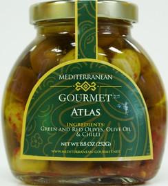 Olives in oil - Mediterranean Gourmet Atlas