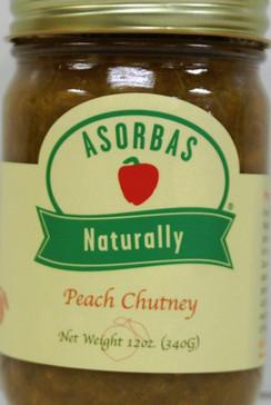 Peach Chutney - Asorbas by Sabrosa