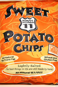 Sweet Potato Chips - Route 11
