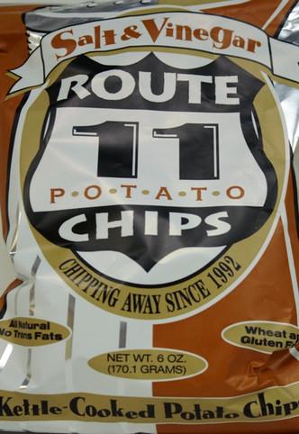 Salt & Vinegar Potato Chips - Route 11