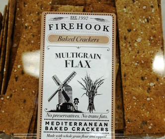 Multigrain Flax Crackers - Firehook