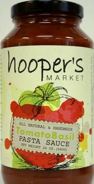 Tomato Basil Pasta Sauce - Hooper's Market