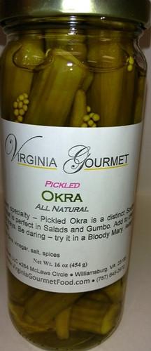 Pickled Okra - Virginia Gourmet