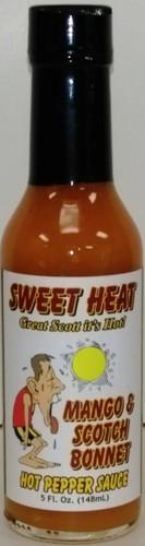 Mango & Scotch Bonnet Hot Pepper Sauce - Sweet Heat