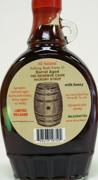 Rye Whiskey Hickory Syrup - Wildwood's