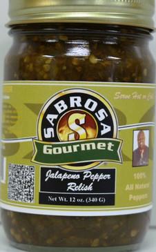 Jalapeno Pepper Salsa - Sabrosa by Asorbas