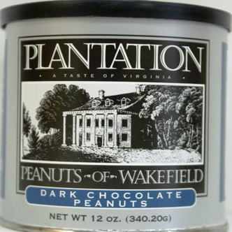 Dark Chocolate Peanuts - Plantation Peanuts of Wakefield
