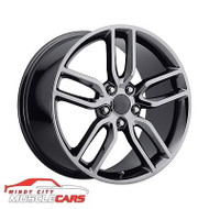 "Chevrolet Corvette C7 Z51 19"" x 8.5"" 5.475 +56 Offset PVD Black Chrome Wheel"