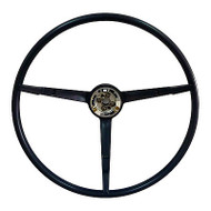 STEERING WHEEL DARK BLUE MUSTANG 64-66
