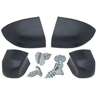 55-59 2ND SERIES DELUXE HEATER CONTROL KNOB SET