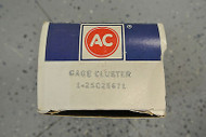 NOS AC GM Battery Voltmeter Gauge Government Surplus 6473824