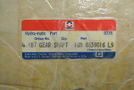 NOS GM Delco Hydra-Matic Transmission 4.187 Output Gear Shaft Delco 8639016