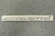 2014-15 C7 Corvette Stingray Rear Bumper Chrome Emblem