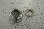 2002-04 MINI Cooper Power Steering Chrome Cap Set