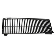 GRILLE; BLACK; 87 GRAND NATIONAL/T-TYPE; PLASTIC