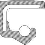 National Oil Seals 710169 Axle Seal