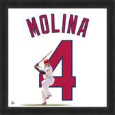 Yadier Molina St. Louis Cardinals 20x20 Framed Uniframe Jersey Photo