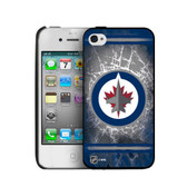 Winnipeg Jets iPhone 4/4s Hard Cover Case