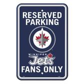 Winnipeg Jets Car Flag with Wall Bracket 80246