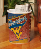 West Virginia Mountaineers Wastebasket