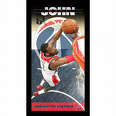 Washington Wizards John Wall Player Profile Wall Art 9.5x19 Framed Photo