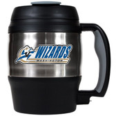 Washington Wizards 52oz. Stainless Steel Macho Travel Mug with Bottle Opener