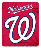 Washington Nationals 50x60 Fleece Blanket - Wicked Design