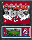 Washington Nationals 2013 Team Composite Plaque