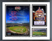 Washington Nationals 2005 Opening Day Milestones & Memories Framed Photo