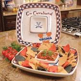 Virginia Cavaliers Gameday Chip & Dip Set