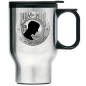 United States P.O.W. M.I.A. Travel Mug