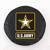 United States Army Black Tire Cover, Small