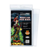 Ultra Pro Regular Size Bags, 7 1/8 x 10 ?? (100/pack)