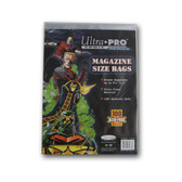 Ultra Pro Magazine Size Bags, 8 5/8 x 11 ?? (100/pack)