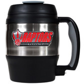 Toronto Raptors 52oz. Stainless Steel Macho Travel Mug with Bottle Opener