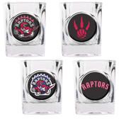Toronto Raptors 4pc Square Shot Glass Set