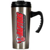 Toronto Raptors 16oz Stainless Steel Travel Mug