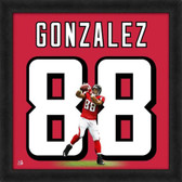 Tony Gonzalez Atlanta Falcons 20x20 Framed Uniframe Jersey Photo