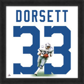 Tony Dorsett Dallas Cowboys 20x20 Framed Uniframe Jersey Photo