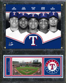 Texas Rangers 2013 Team Composite Plaque