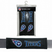 Tennessee Titans Velour Seat Belt Pads