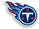"Tennessee Titans 12"" Vinyl Magnet Set Of 2"
