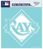 "Tampa Bay Rays 8""x8"" Die-Cut Decal"