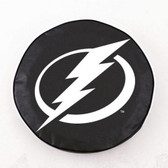 Tampa Bay Lightning Black Tire Cover, Small