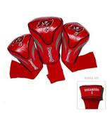 Tampa Bay Buccaneers 3 Pack Contour Sock Headcovers