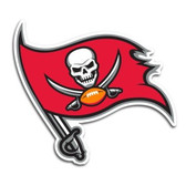 "Tampa Bay Buccaneers 12"" Right Logo Car Magnet"