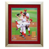 Stephen Strasburg Multi Exposure Framed 20x24 Dirt Collage