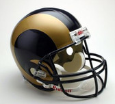 St. Louis Rams Riddell Full Size Deluxe Replica Football Helmet
